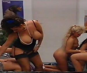 Klinik-Sexfull vintage movie of 1994 with Tiziana Redford aka Gina Colany