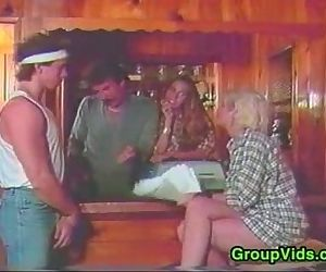Vintage Video With Swingers Fucking
