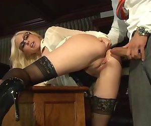 Anal Fuck - Stockings - 1